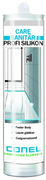 CARE Profi-Sanitär-Silikon transparent CONEL