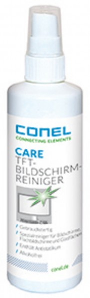 CARE TFT-Bildschirmreiniger 250ml Sprühflasche CONEL