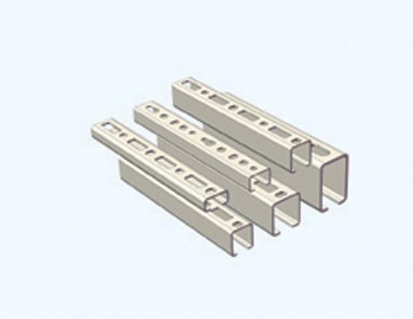 Schiene CLIC 27/18 CONEL (Länge 2m) 27 x 18 x 1.25mm verzinkt