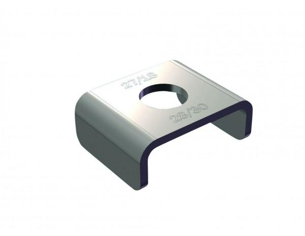 Sicherungsklammern CLIC M 10 CONEL für Profil 27/18 und 28/30