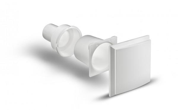 Zweitraumset COSMO EL m. Zweitraumblende UP-Gehäuse m.Montagehalter