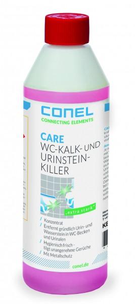 CARE WC-Kalk-/Urinsteinkiller 500ml Flasche Konzentrat salzsäurehaltig CONEL