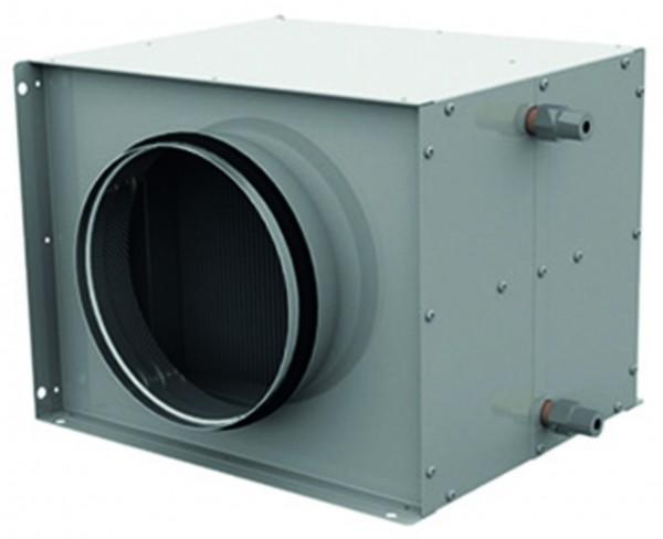 PWW-Heizregister COSMO DN 100 für Rohreinbau