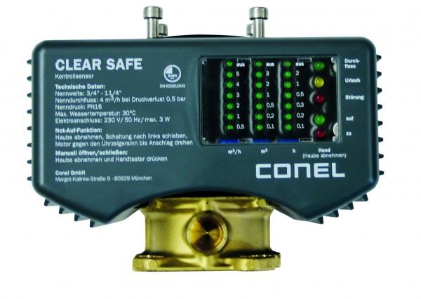 "Kontrollsensor CLEAR 2.0 SAFE CONEL z.Zwischenbau 3/4"" - 1 1/4"""