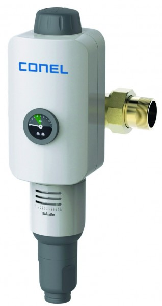 """Hauswasserstation CLEAR 2.0 RD CONEL 1 1/2""""Rückspülf.m. Druckmin. u. RV"""