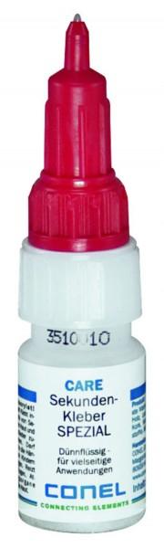 CARE Sekunden-Kleber SPEZIAL 10g dünnflüssig mit Drehverschluss CONEL