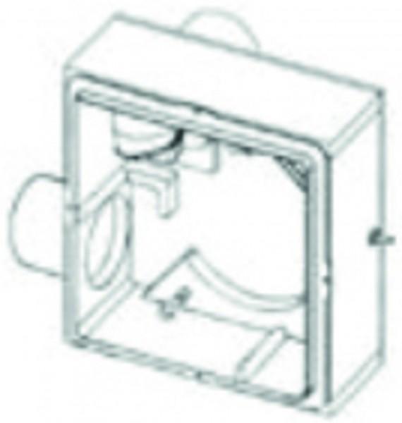 Zweitraum UP-Gehäuse COSMO EL Ausblas hinten, m.Brandschutz, m.Montagehalter