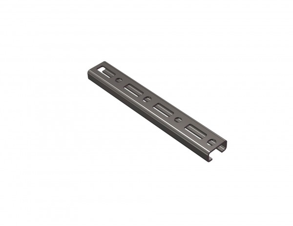 Profilschiene CLIC 30x15mm CONEL Edelstahl V4A 2 Meter lang