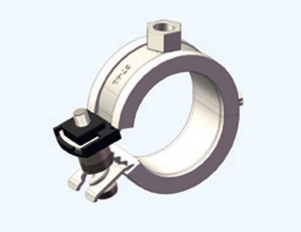 Rohrschelle CLIC 16-18mm M 8 CONEL für Kunststoffrohr