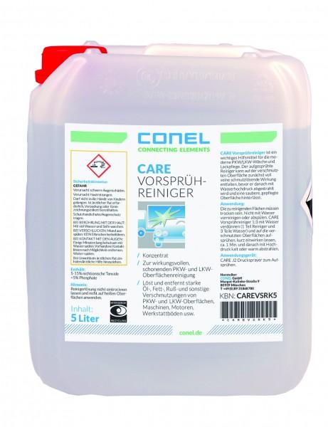CARE Auto-Vorsprühreiniger 5 Liter Kanister Konzentrat 1:3 CONEL
