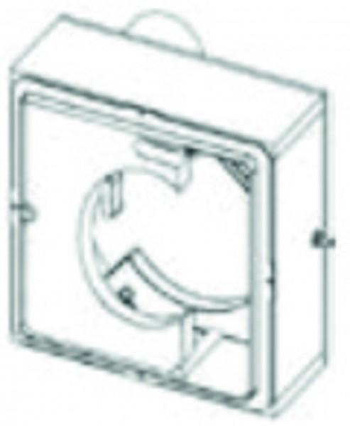 UP-Gehäuse COSMO EL Ausblas hinten m.Brandschutz, m.Montagehalter