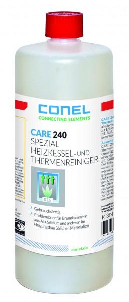 CARE 240 Heizkessel-Thermenreiniger 1 L Flasche Spezial f.AlSi-WT CONEL