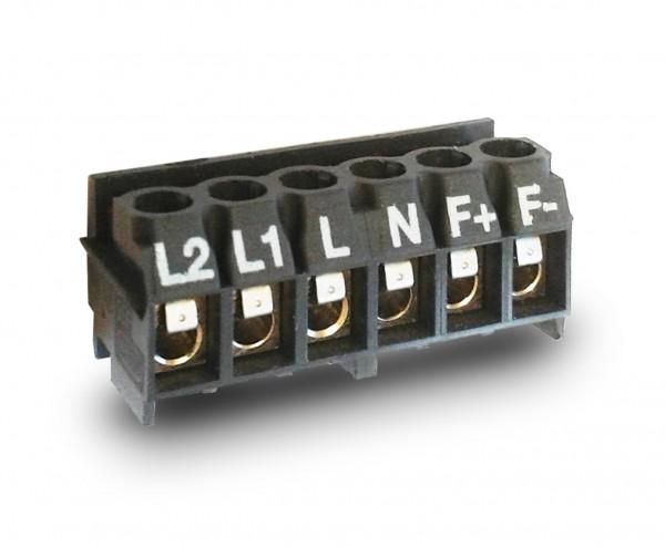 Netzklemme f.COSMO-EL f.elektr.Anschluss, 6-poligg