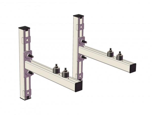 Schienenkonsolen-Set CLIC 500mm CONEL