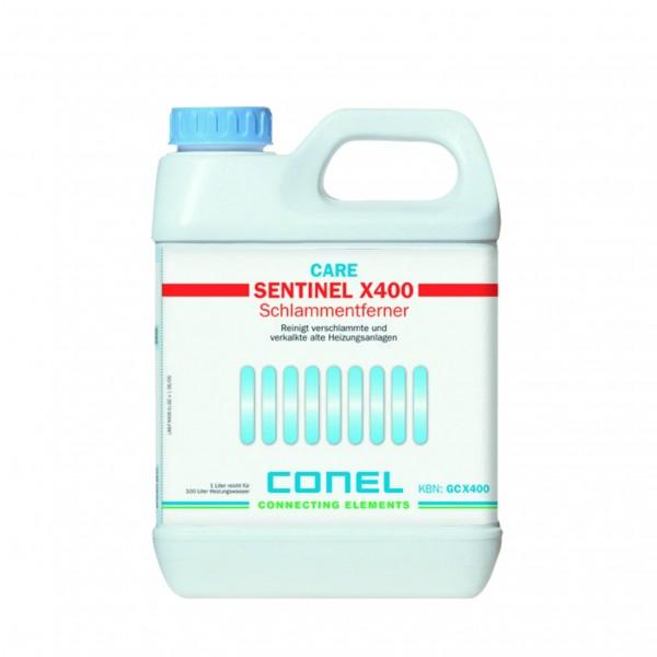 CARE Schlammentferner X400 f.Heizanl. ab 6 Monate 1 Liter CONEL