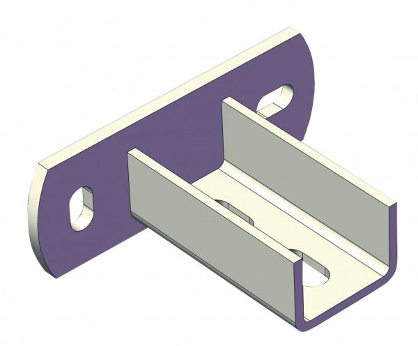 Sattelflansch CLIC Typ 1 27/18 und 28/30 CONEL