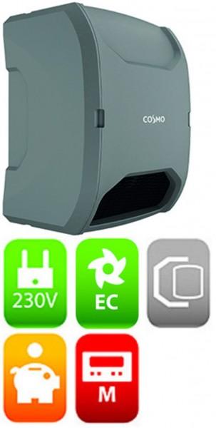 Design Lüftungsgerät COSMO-Plus 1200 m.Wärmerückgewinnung