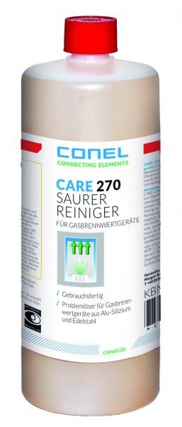 CARE 270 Saurer Reiniger f.Gasbrennwert- geräte 1L Fl.gebrauchsfertig salzsäuref.