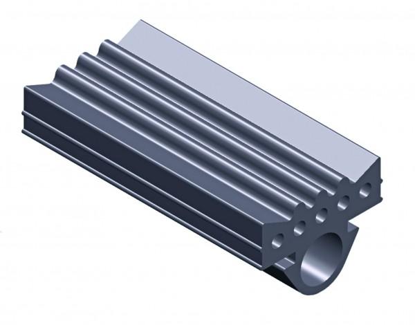 Profilgummi CLIC CONEL Rolle a 30m f.Montageschiene 27/18*28/30*30/15*30/30