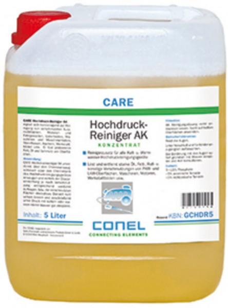 CARE AK Hochdruckreiniger-Konzentrat 5 L alkal.Reinigerzusatz ohne Lösungsm.CONEL