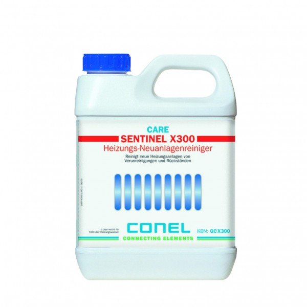 CARE Universalreiniger X300 f.Heizanl. bis 6 Monate 1 Liter CONEL