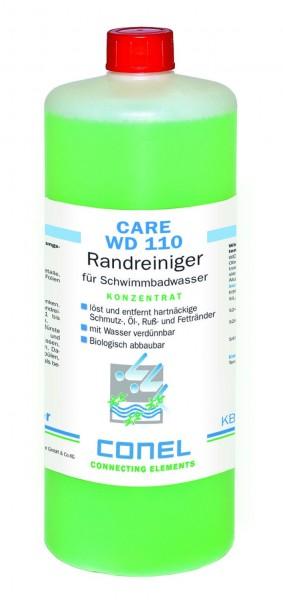 CARE WD 110 Clearwater Randreiniger 1 L Flasche Konzentrat CONEL
